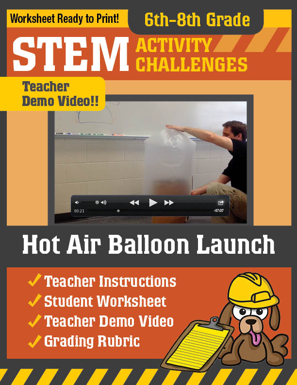 how to make a hot air balloon for school project