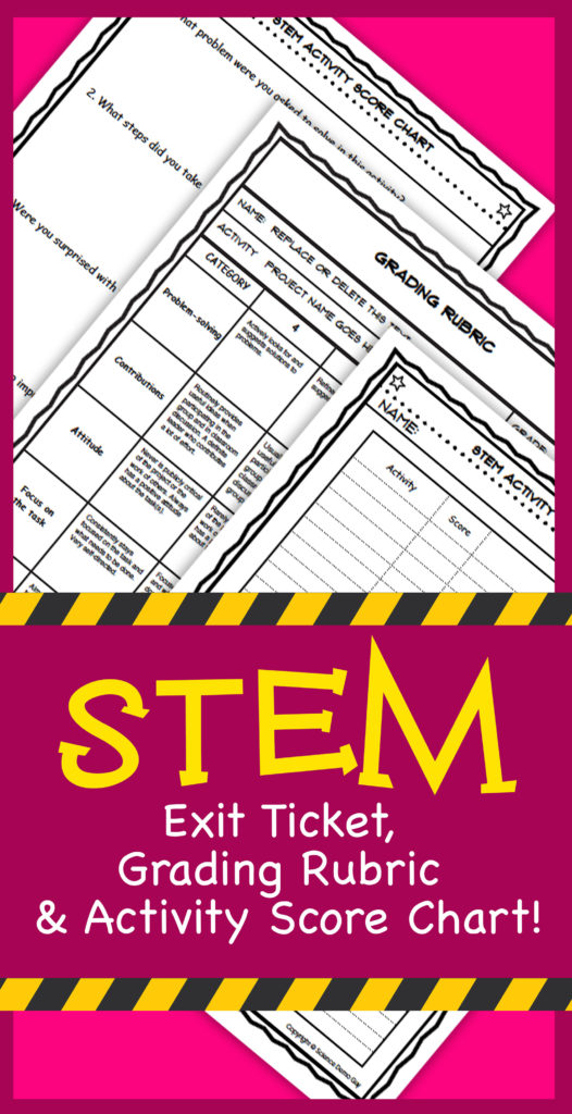 STEM Exit Ticket