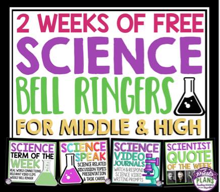 photo about Free Printable Bell Ringers named 10 Totally free Science Posters Science Trial Man