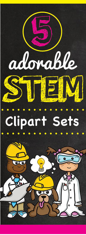 cute stem science clipart