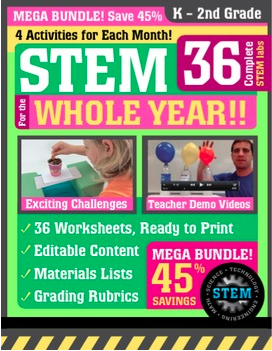 STEM for the whole year k - 2